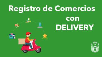 Registro de Comercios con Delivery