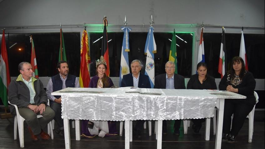 Presentaron Nueva Edición Fiesta Provincial del Inmigrante